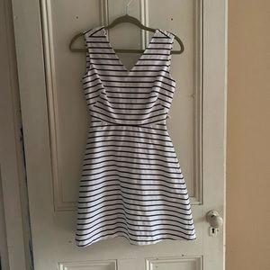 Kate Spade Striped Mini Sun Dress